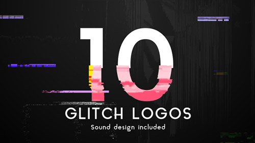 Glitch Logo Pack 19801525 - Project for After Effects (Videohive)