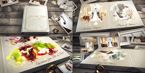 Wedding Book 19492956 - Project for After Effects (Videohive)