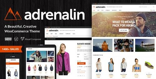 ThemeForest - Adrenalin v1.9.10 - Multi-Purpose WooCommerce Theme - 9284771
