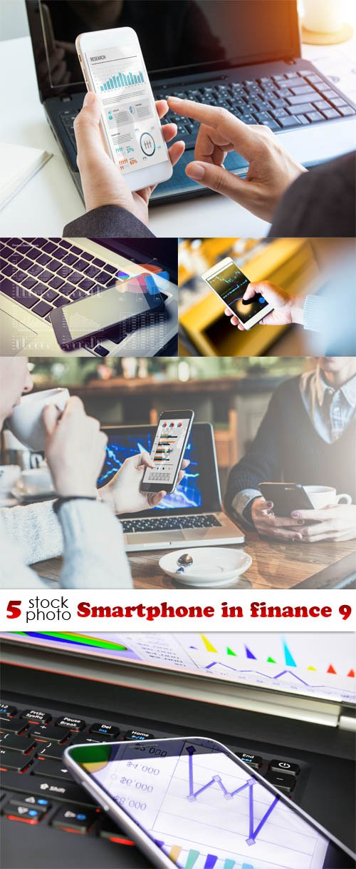 Photos - Smartphone in finance 9