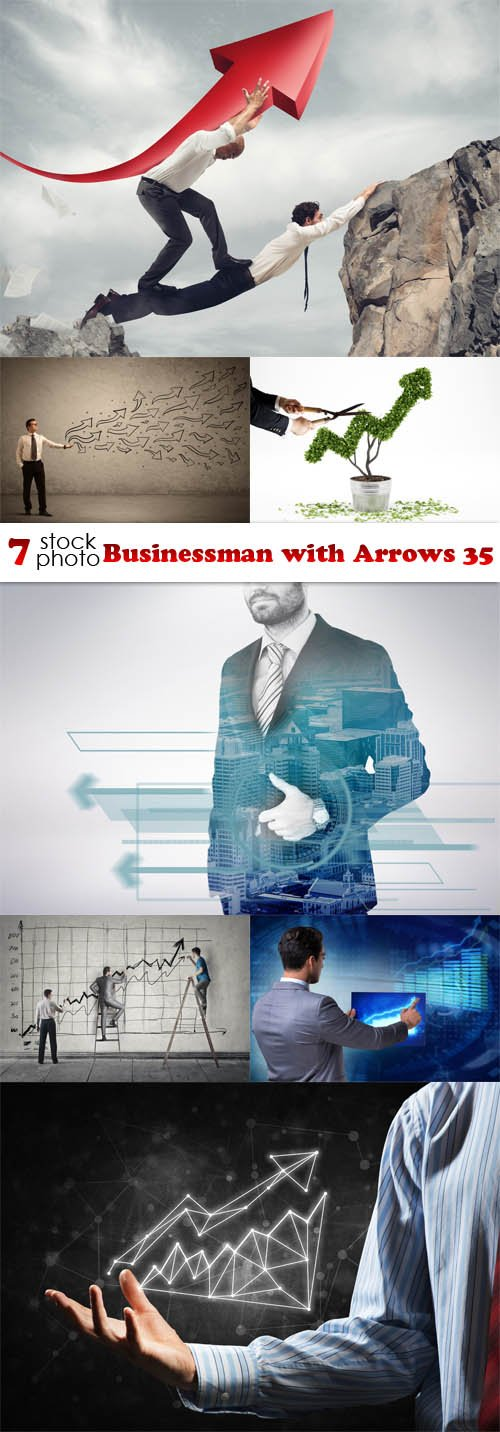 Photos - Businessman with Arrows 35
