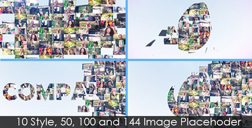 Multi-Image Logo Reveal V.4 (10in1) - Project for After Effects (Videohive)
