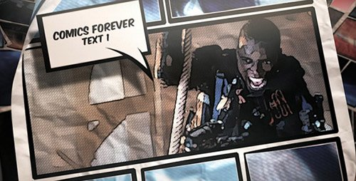 Comics Forever - Project for After Effects (Videohive)