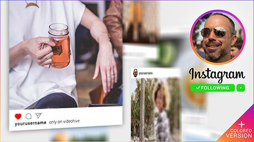 Instagram Promo 3D Gallery - Project for After Effects (Videohive)