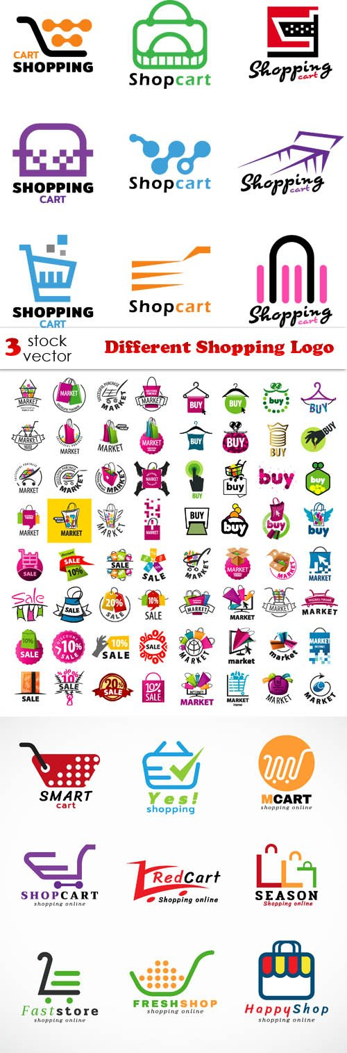Vectors - Different Shopping Logo