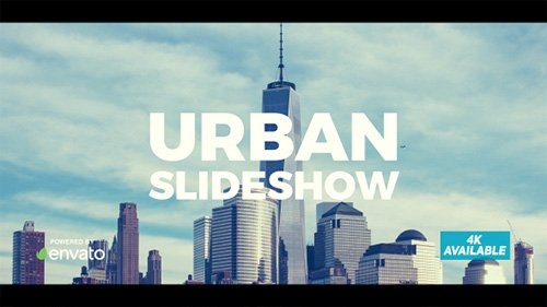 Dynamic Urban Slideshow - Project for After Effects (Videohive)