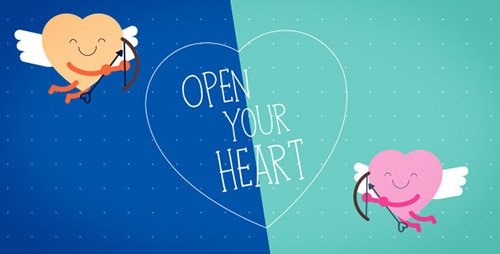 Funny Valentines Card - Project for After Effects (Videohive)