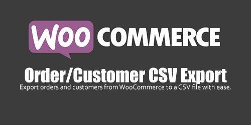 WooCommerce - Order/Customer CSV Export v4.3.0