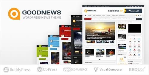 ThemeForest - Goodnews v5.8.7 - Responsive WordPress News/Magazine - 1150692
