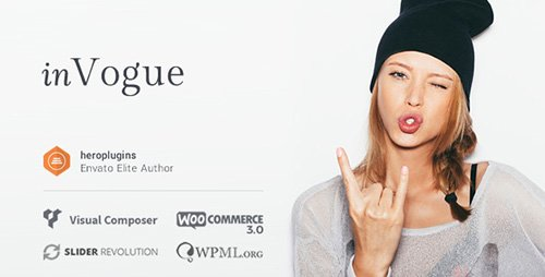 ThemeForest - inVogue v1.20.24 - WordPress Fashion Shopping Theme - 16115679