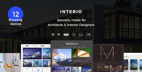 ThemeForest - Intesio v1.1 - Interior Design Architecture - 18482697
