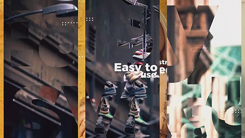 Clean Modern Slideshow 34218 - After Effects Templates