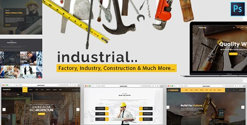 ThemeForest - MegaPack v1.0 - Industrial - Factory, Industry & Construction HTML Template - 19753291