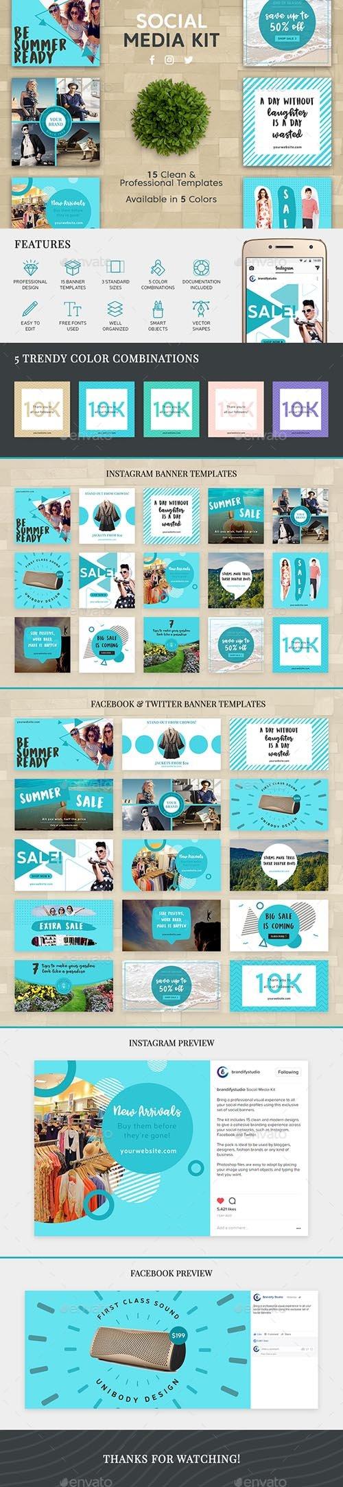 Social Media Kit 19751307