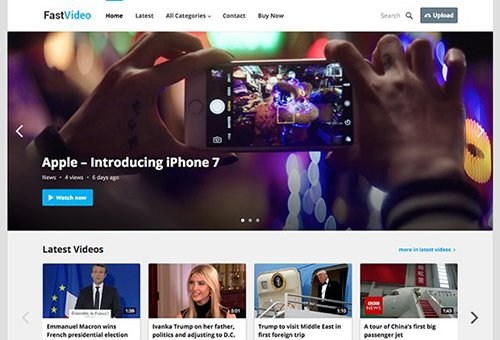 FastVideo v1.0 - WordPress Video Theme - CM 1492829