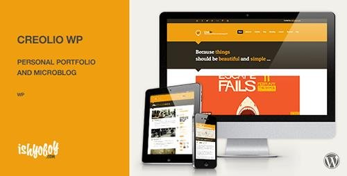 ThemeForest - Creolio WP v1.8 - Personal portfolio and microblog - 3644512