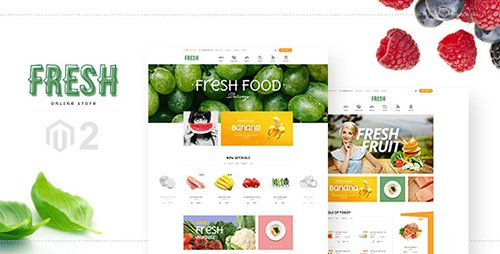 ThemeForest - Fresh - Magento 2 Template (Update: 16 February 17) - 17790831