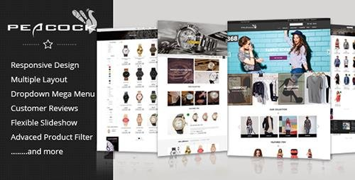 ThemeForest - Peacock - Multipurpose Responsive Shopify Theme (Update: 25 February 17) - 12750380