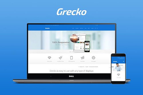 Grecko v1.2 - Multi Purpose HTML Theme - CM 927797