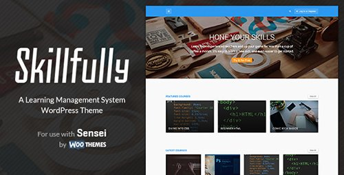 ThemeForest - Skillfully v2.0.3 - A Learning Management System Theme - 11450674