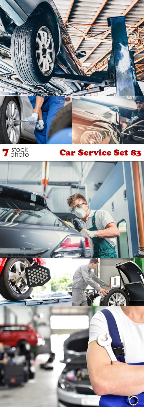 Photos - Car Service Set 83