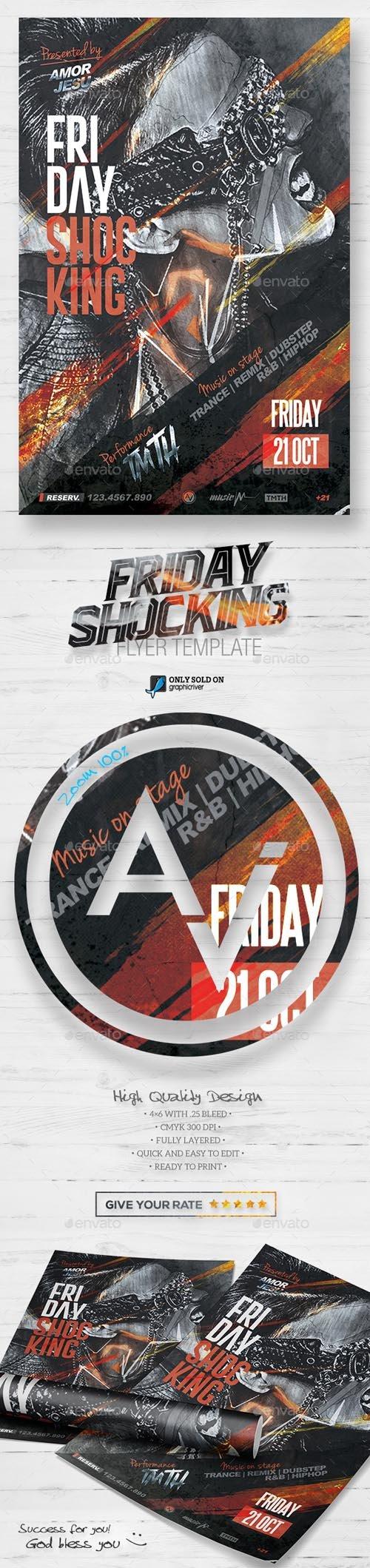 Friday Shocking Flyer Template V2 15691869
