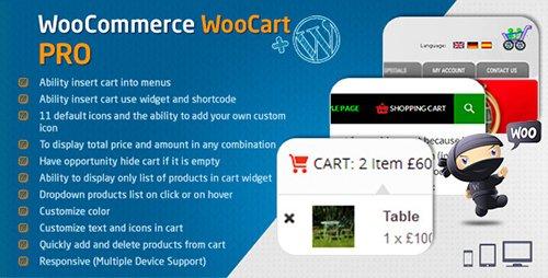CodeCanyon - WooCommerce Cart - WooCart Pro v2.5.0 - 7992078