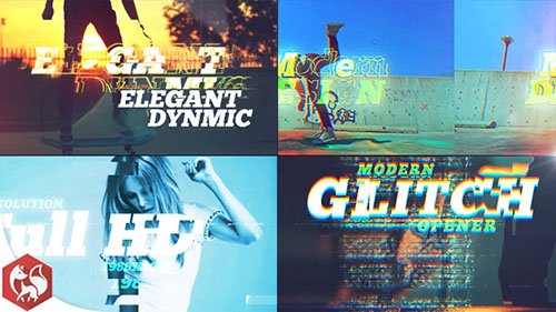 Glitch Opener 19929942 - Project for After Effects (Videohive)