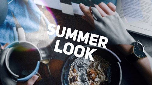Summer Look - Project for After Effects (Videohive)