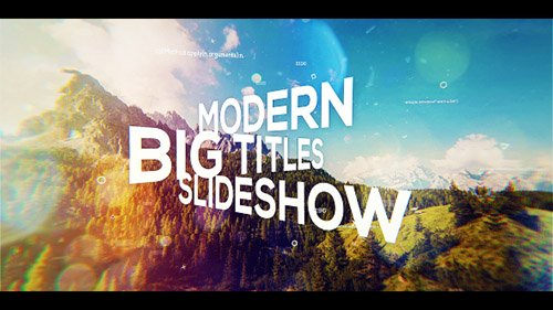 Big Titles Slideshow 19844717 - Project for After Effects (Videohive)