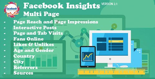 CodeCanyon - Facebook Insights Multi Page v2.1 - 14903233