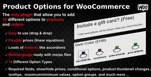 CodeCanyon - Product Options for WooCommerce v4.127 - WordPress Plugin - 7973927