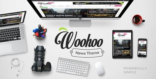 ThemeForest - Woohoo v1.4.3 - Modish News, Magazine and Blog Theme - 13570398