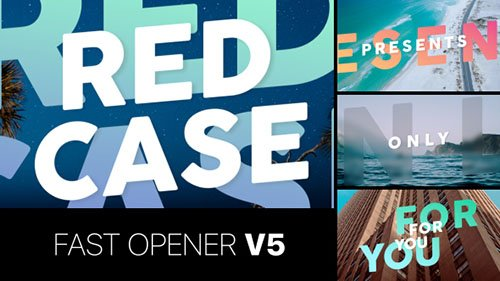 Fast Opener v5 - Project for After Effects (Videohive)