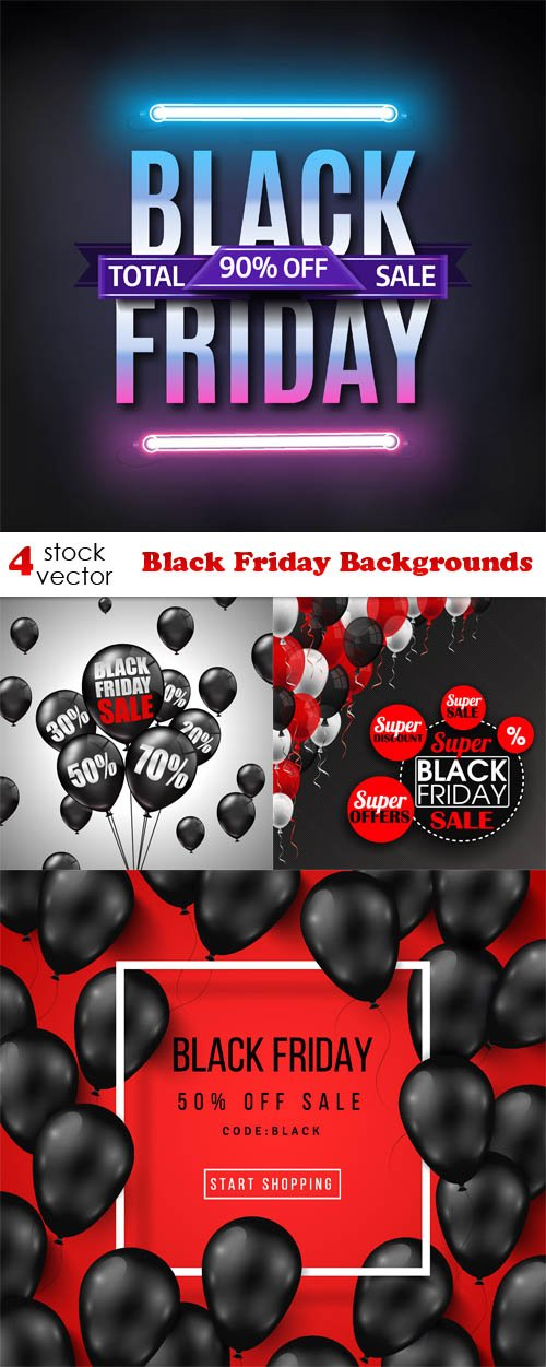 Vectors - Black Friday Backgrounds