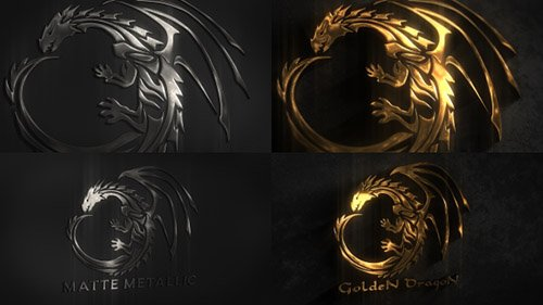 Metal Logo 19492696 - Project for After Effects (Videohive)