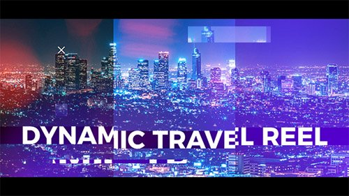 Dynamic Travel Reel - Project for After Effects (Videohive)