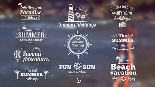 Summer Banners II - Project for After Effects (Videohive)
