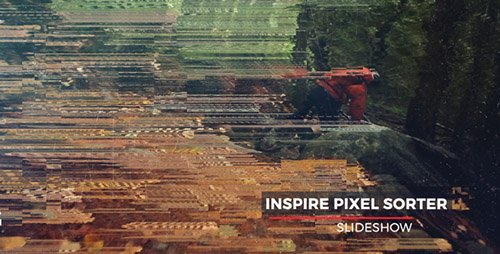 Pixel Sorter Slideshow - Project for After Effects (Videohive)