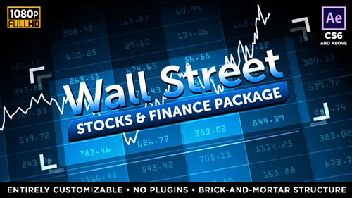 Wall Street - Stock Market and Finance Package - Project for After Effects (Videohive)