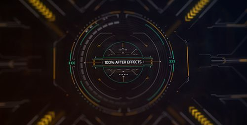 Technic Displays - Project for After Effects (Videohive)