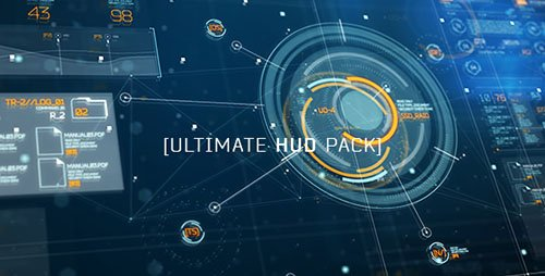 Ultimate HUD Pack - Project for After Effects (Videohive)