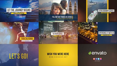 Fast Video Blog Promo - Project for After Effects (Videohive)