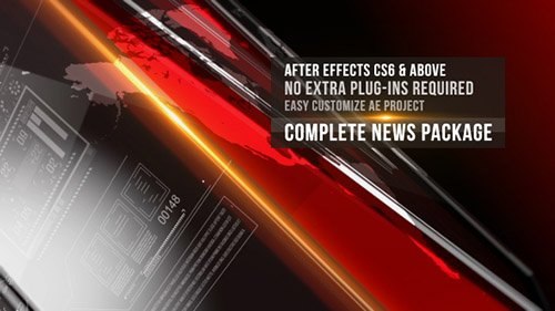 News Complete Package - Project for After Effects (Videohive)
