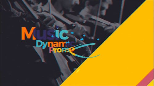 Music Dynamic Promo 19492778 - Project for After Effects (Videohive)