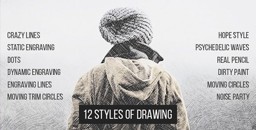 12 Styles Of Drawing - Project for After Effects (Videohive)