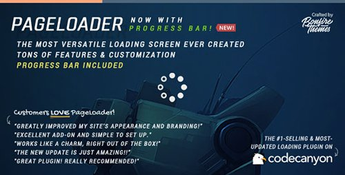 CodeCanyon - PageLoader v2.5 - Loading Screen and Progress Bar for WordPress - 6594364