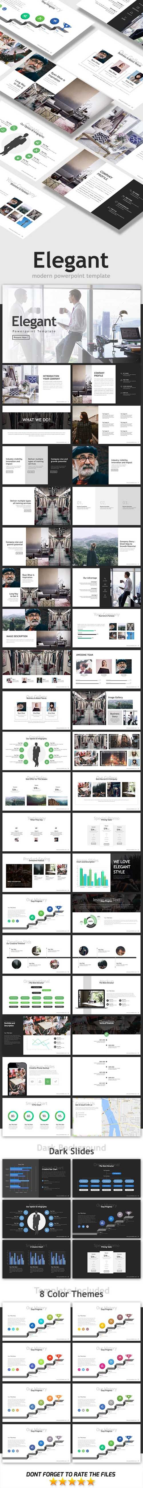 Elegant Powerpoint Template 19930918