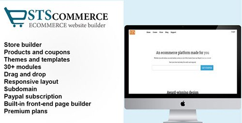CodeCanyon - STSCommerce v2.0.2 - eCommerce site builder - 19514346