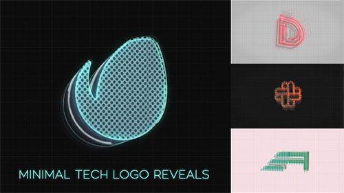 Minimal Tech Logo Reveals - Project for After Effects (Videohive)